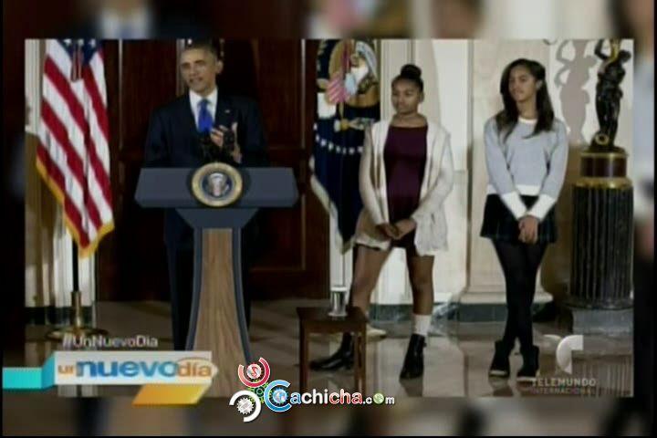 Critican Las Hijas De Obama Por Su Vestimenta El Día De Acción De Gracias#Video