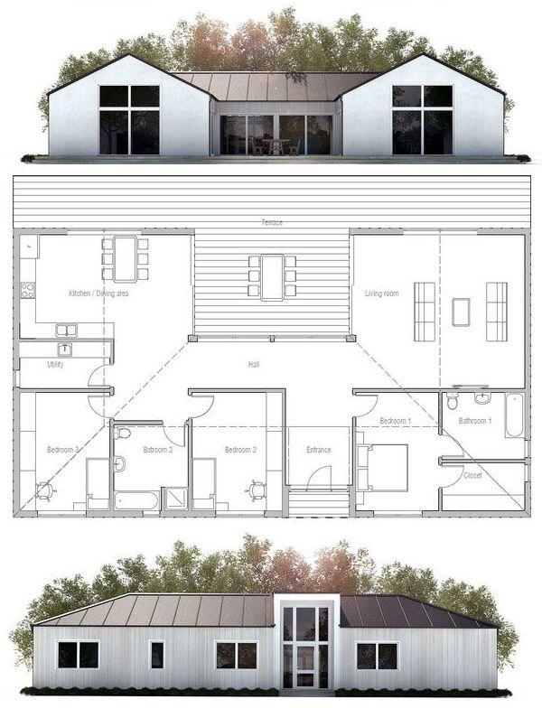 Wild Salt Spirit: Small House Plan