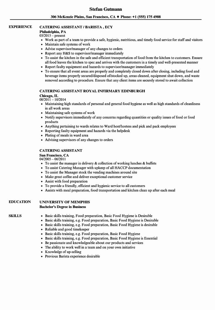 23 Kitchen Manager Job Description Resume in 2020