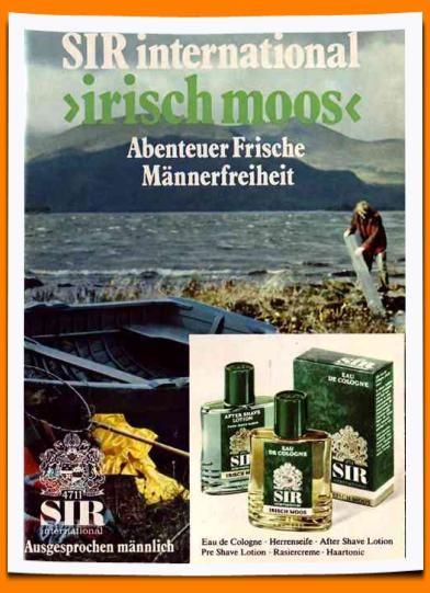 SIR Irisch Moos Werbung anno 1972