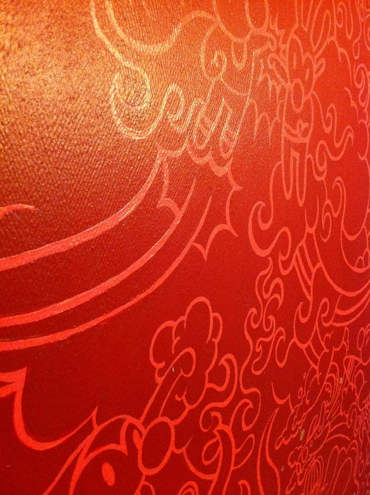 handmade on the wall by kartess