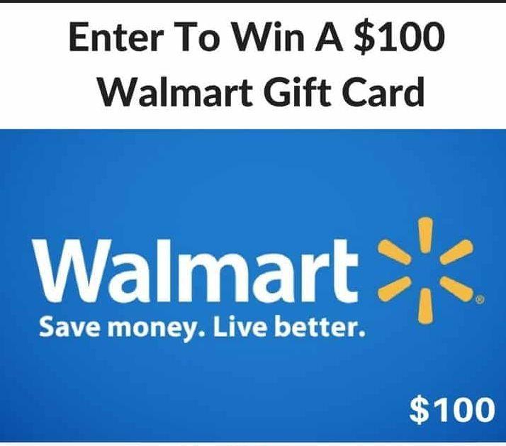 100 Walmart Gift Card 100walmartgiftcard Walmartgiftcard