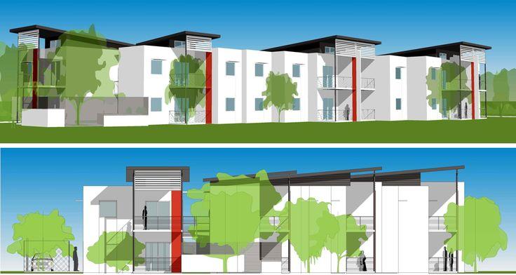 Archiplan // Epacris Apartments Pelican Point // Short Stay Service Apartments