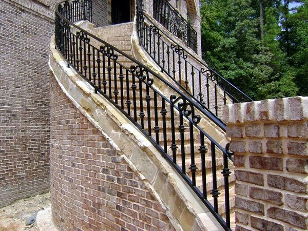 40 Amazing Grill Designs For Stairs Balcony And Windows Bored   Metal Steps For Outside   Backyard   Steel Construction   Easy   Utility   Outdoors