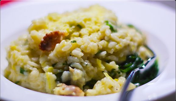 Chicken, Leek & Garlic Risotto