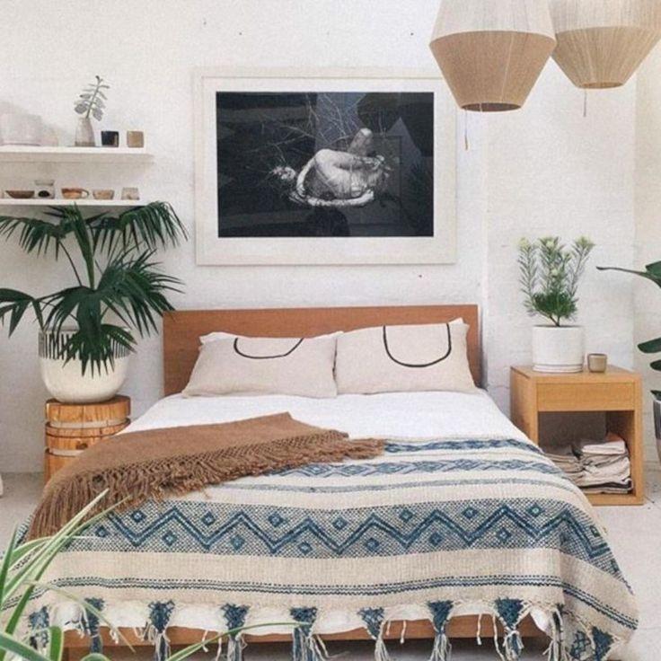 35 Super Cheap Bohemian Bedroom Ideas You Must Try ... on Bohemian Bedroom Ideas On A Budget  id=40947