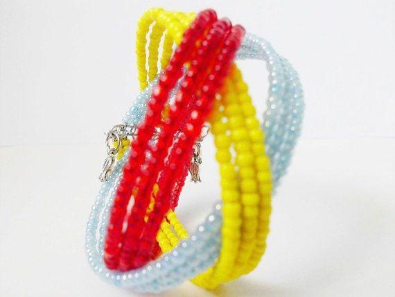 For mom/Geometric bracelet/Bracelet/Merry by Theworldofjewelry