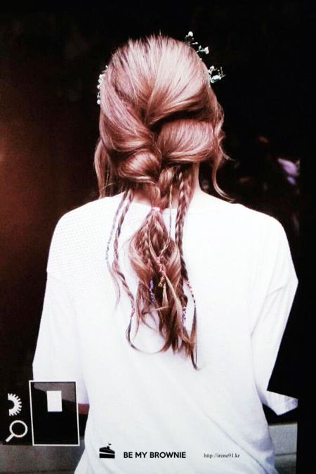 Irene from Red Velvet This hairstyle just slaaaaaay