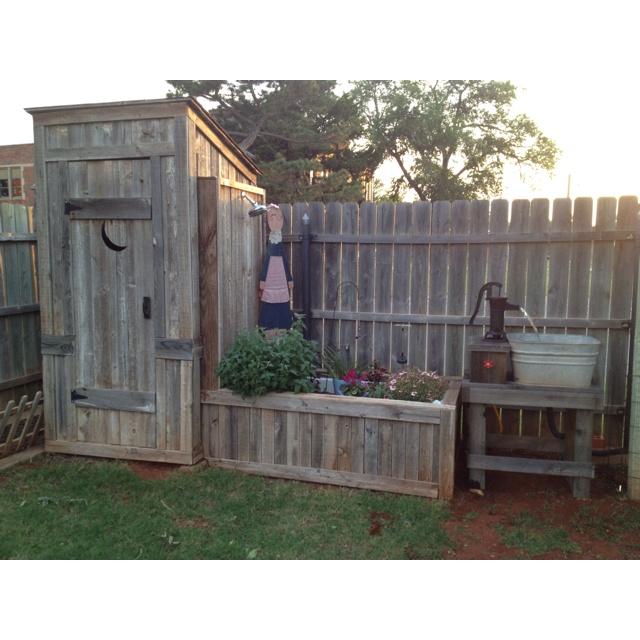 151 best Outdoor Bathroom Ideas images on Pinterest on Backyard Bathroom Ideas id=48528