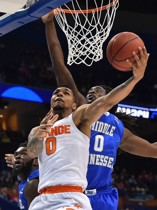 syracuse basketball sweet 16 2016' | NCAA Basketball: NCAA Tournament-Second Round-Middle Tennessee State ...