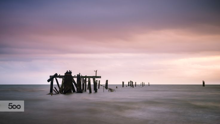 Shorncliffe Pier Supports by Silken Photography on 500px