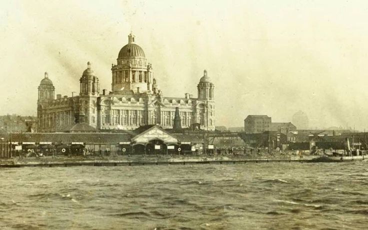 Before the Liver Building was built