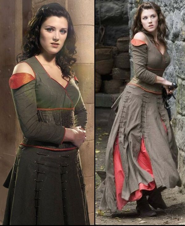 Maid Marian (Lucy Griffiths) from Robin Hood (BBC)
