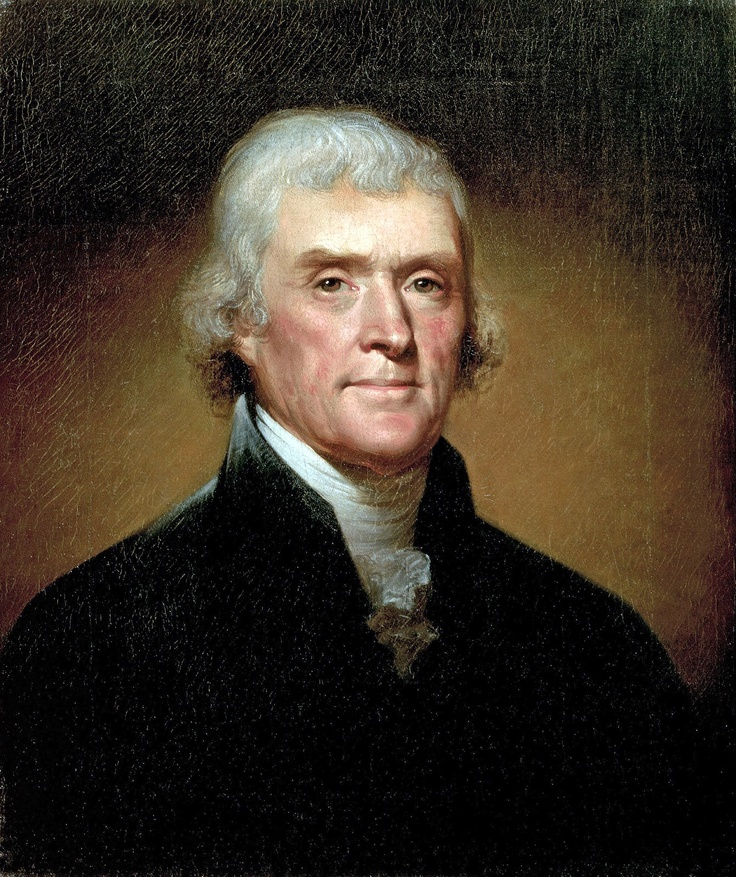 3: Jefferson's library of 6,000 books was purchased for $ 23.950 and formed the basis of the Library of Congress.