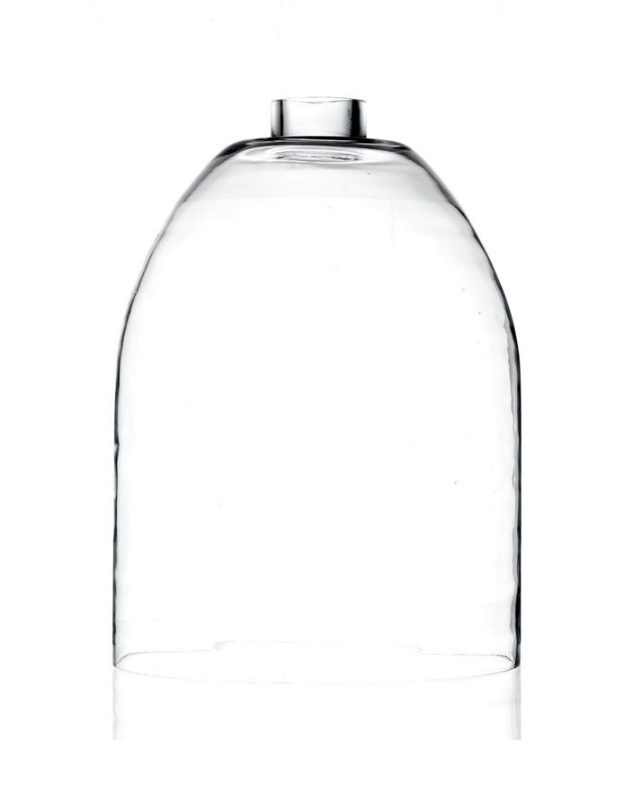 Glas lanterne 'XL CHIMNEY' - hurricane 28X23 cm