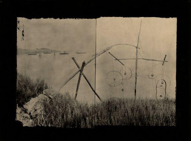 """Laurent Millet - """"Petites Machines Littorales"""", 1997.  Arte, escultura, formas y materia."""
