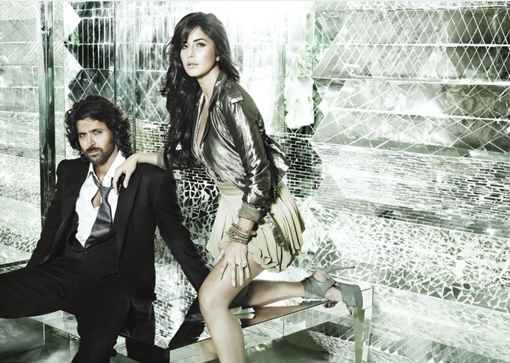 Hrithik Roshan and Katrina Kaif in Harper's Bazaar edition 2009