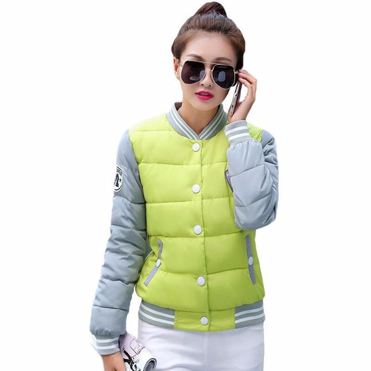 New winter jacket women fashion uniform warm jackets winter coat women cotton female parkas Women's winter jacket Down and parkas Jacket