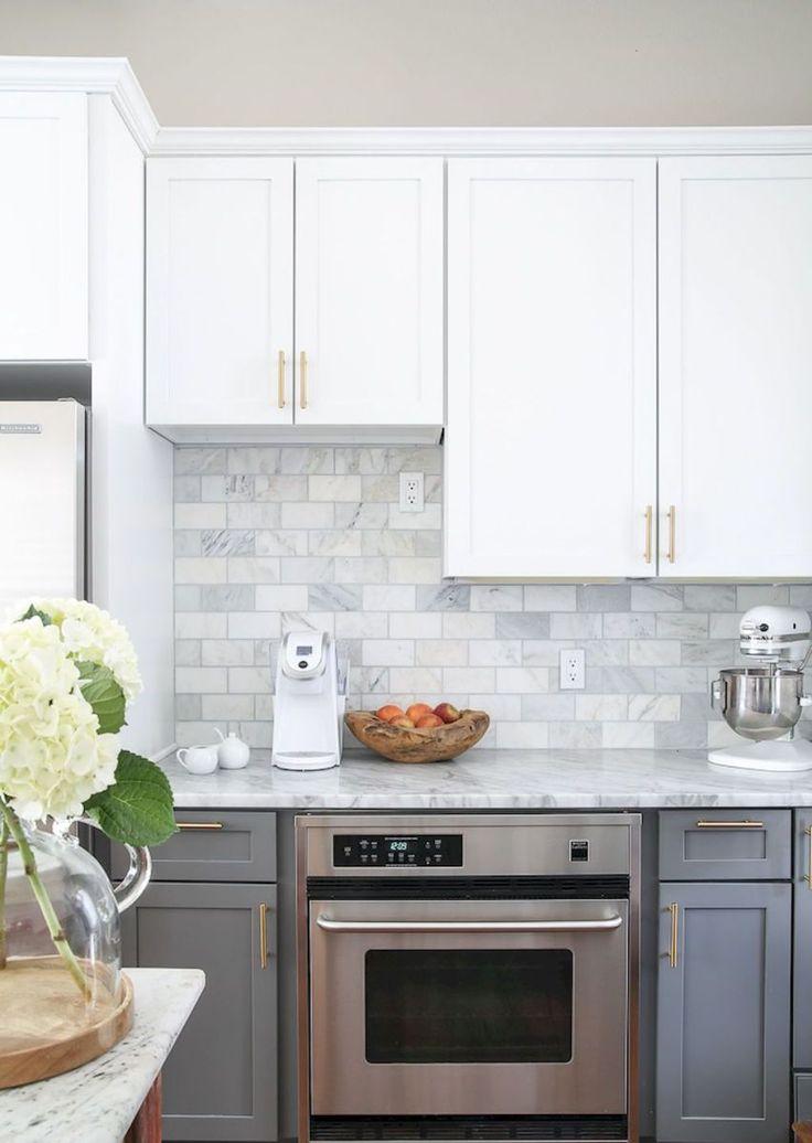 60 fancy farmhouse kitchen backsplash decor ideas (42 ...