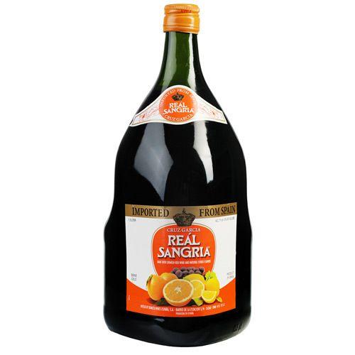 Cruz Garcia Sangria - easy recipe.  Refrigerate for 24 hours with fruit.  Recipe here.