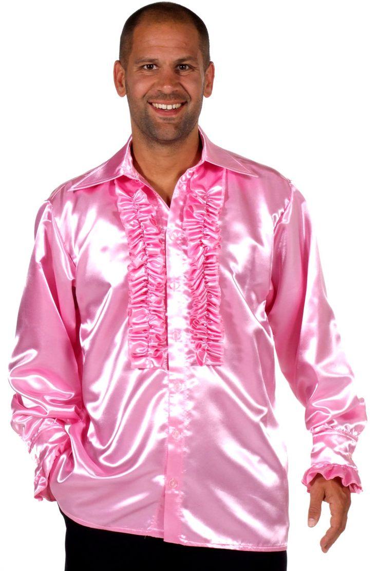 Pink Shirt Men