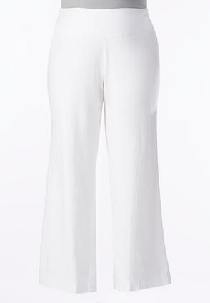 Cato Fashions Wide Leg Beach Pants-Plus #CatoFashions