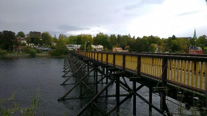 Bridge over the river Nidelven. www.visittrondheim.no