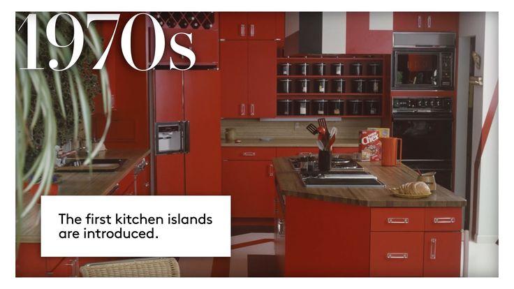 キッチンのトレンド100年の歴史