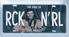 Elvis Presley License Plate --- http://www.pinterest.com.luvit.in/3va