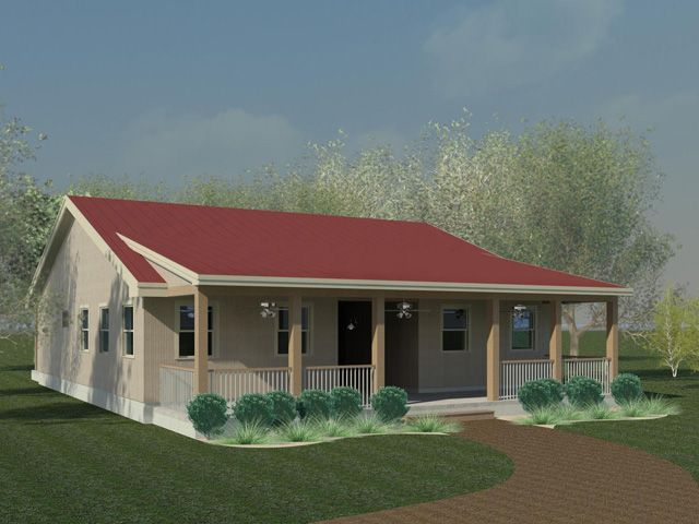 Dog trot house designs dog trot style house based on the for Dogtrot modular homes