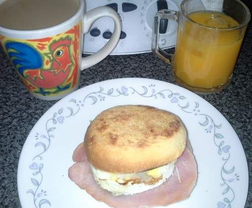 Recipe English Muffins by Thedebstar - Recipe of category Breads & rolls