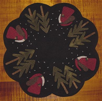 Free Wool Penny Rug Patterns | Click Picture for Closeup View