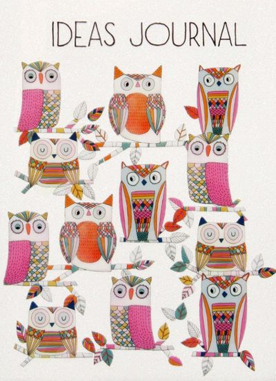 print & pattern: PAPERCHASE - owls