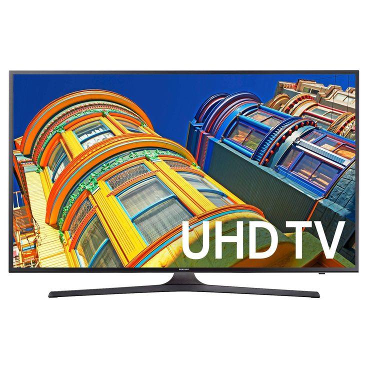 "Target.com 43"" Samsung UN43KU6300 4K UHD HDR LED Smart HDTV  $50 Target gift card = $400 FS  tax #LavaHot http://www.lavahotdeals.com/us/cheap/target-43-samsung-un43ku6300-4k-uhd-hdr-led/147894?utm_source=pinterest&utm_medium=rss&utm_campaign=at_lavahotdealsus"
