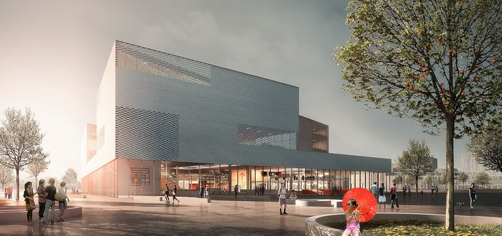 Schmidt Hammer Lassen Architects Wins Competition for the Ningbo New Library