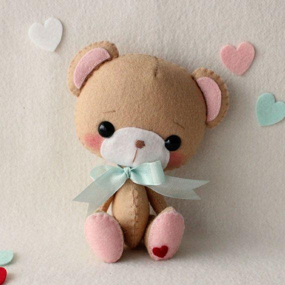 Pdf amor oso de Li ' l patrón por Gingermelon en Etsy