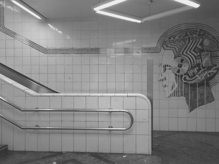 U bahn, Berlin  Photographed by Margrethe Tang