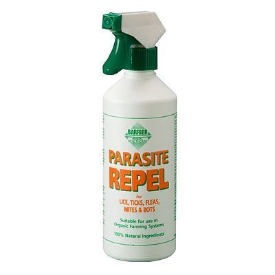 Fly and Insect Repellents 183398: Barrier Horse Parasite Repel 500Ml Spray / 5L Refill Lice Mite Midge Repellent BUY IT NOW ONLY: $85.78