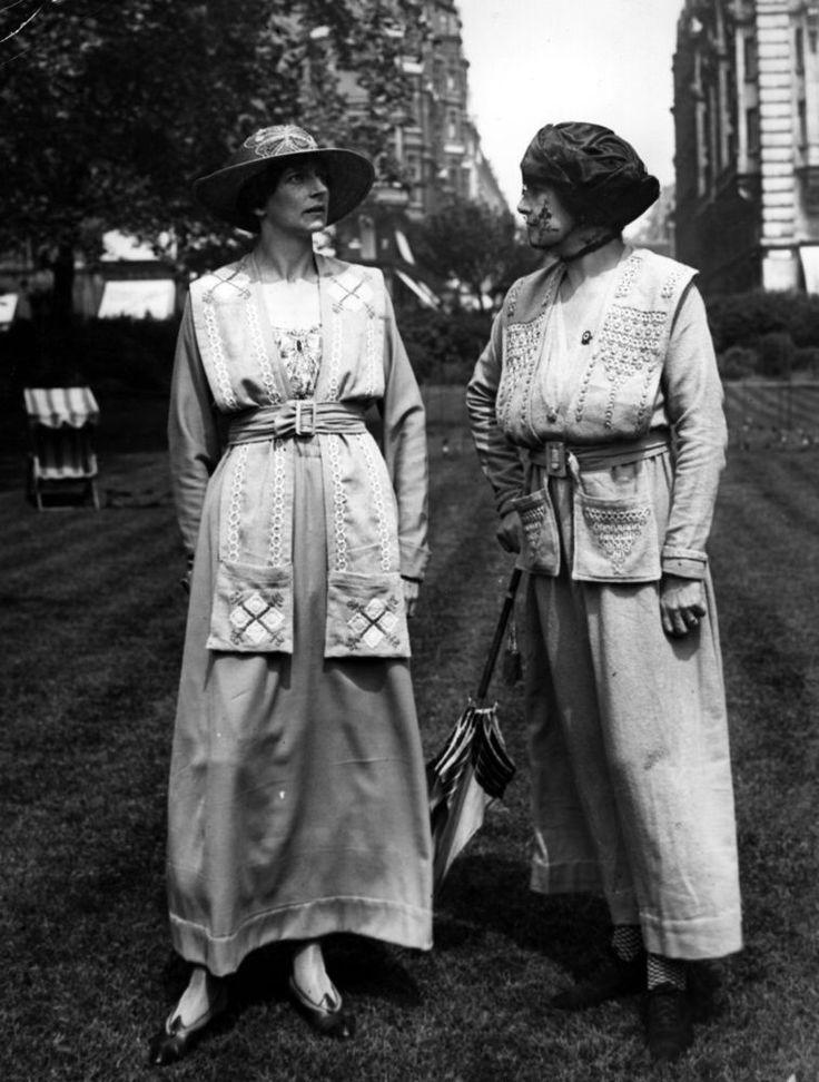 """1918. Moda """"económica"""" durante la guerra."""