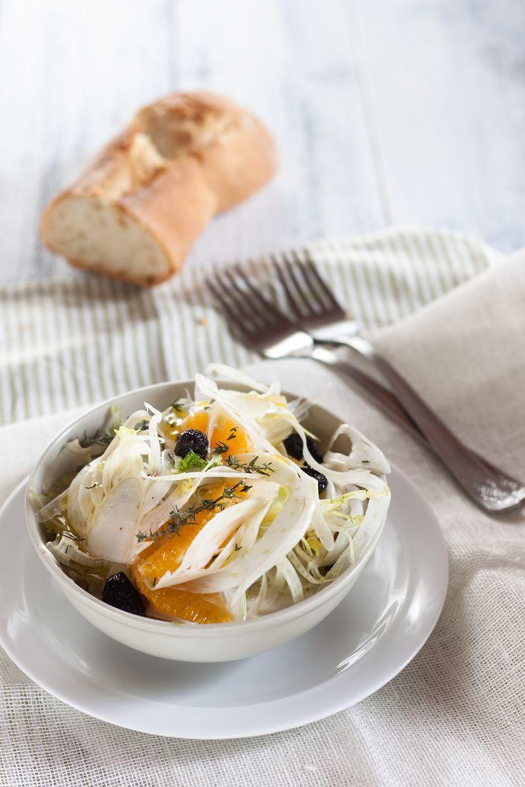 #insalata di finocchi e arancia