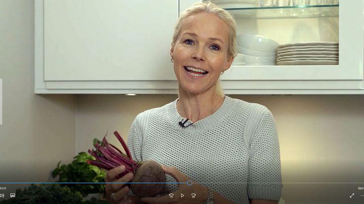Berit Nordstrand fortsetter reisen fra jord til bord og hun vet hvordan barn liker å få servert rødbeter. Se film.