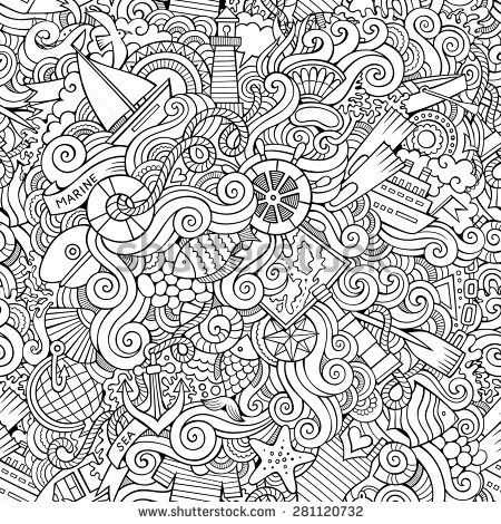 25 unique nautical craft ideas on pinterest nautical for Adult coloring pages nautical