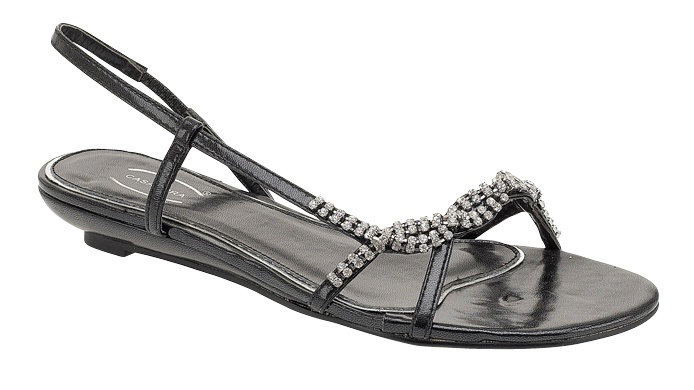 prom flats | Silver Diamante Crystal Criss-Cross Prom Shoes Silver Diamante Sandals ...