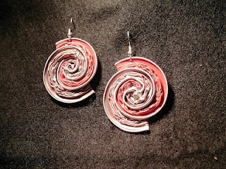 spiral earrings nespresso