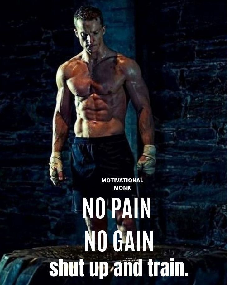 Pin By Tirath Garg On Quotes Motivation Gym Quote Gain Fitness