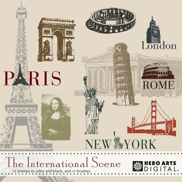 The International Scene: Hero Arts, Digital Elements, Bucket, Digi Stuff