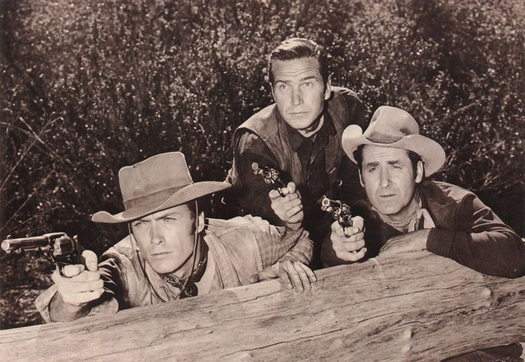 RAWHIDE CLINT EASTWOOD ERIC FLEMING SHEB WOOLEY