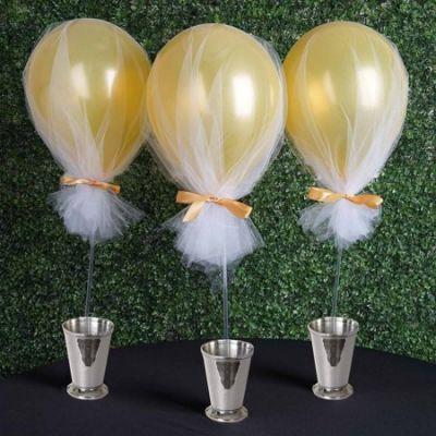 BalsaCircle 10 pcs Balloons Clear
