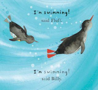 Fluff and Billy : Nicola Killen