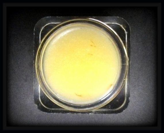 Calendula Infused Vanilla Bean Lip Balm by LaDonnaVerde on Etsy
